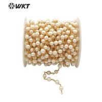 WT-RBC032 WKT Arrivée entière pour Neckalce Bijoux De Perles d'eau douce Perles Perles Collier Chaîne Collier
