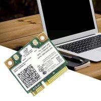 كابلات الكمبيوتر موصلات لاسلكية واي فاي بطاقة مزدوجة الفرقة إنتل 7260 NB 7260HMW مصغرة PCI-E 300Mbps 802.11n 2.4 جرام لأجهزة الكمبيوتر المحمولة 7260NB O0X9