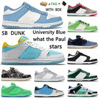 Men Women Sb Chunky Dunky University Blue Stars Running Shoes Low Authentic Grateful Dead Dunk What The Paul Digital Concepts Candy Mens