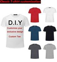 Private Benutzerdefinierte Herren DIY Mode Regular Classic T-Shirt Weste Lange Saum Hip Hop T-Shirt Harajuku Rock Männer und Frauen DHJ