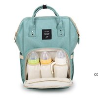 18 Colors New Multifunctional Baby Diaper Backpack Mommy Changing Bag Mummy Backpack Nappy Mother Maternity Backpacks sea ship DHA8509