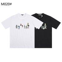 DSQ PHANTOM TURTLE SS Mens Designer T shirt Italian fashion Tshirts Summer DSQ Pattern T-shirt Male High Quality 100% Cotton Tops 60301