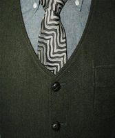 Tweed Vests Single-breasted Wool Herringbone Slim Men Suit Custom Made Sleeveless Jacket Mens Dress Wedding Waistcoat Men's Suits & Blazers