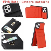 Women Luxurys Designers Card Bag Phone Cases With PD Brand Package For i 12 ProMax i11 xs XSmax xr 8plus 7 8 7plus