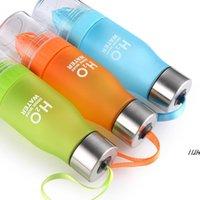 22 oz plastik limon su şişesi H20 plastik meyve infüzyon şişe demlik içecek açık spor suyu limon taşınabilir bisiklet seyahat dwd7427