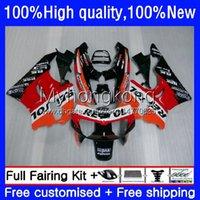 Lichaam voor HONDA CBR893 RR CBR900RR CBR893RR 94 95 96 97 260HM.0 CBR 893 CBR900 RR CBR 893RR 1994 1995 1996 1997 Fairing Kit Factory Red Black