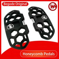 모드 외발 자전거 타기 벌집 페달 Gotway 스쿠터 원래 CNC 다이 캐스팅 페달 더 큰 부품 액세서리