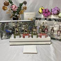Hochwertiges tier porträt Parfüm Set für Frau und Männer sprühen Luxusglasflasche 75ml EDP Fast FREE Lieferung Dieselbe Marke