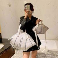 Borse di grande capacità Casual Donne Tote Borsa Tote Borsa Creative Hobos Maschera Borse a tracolla Femminile Fashion Fashion Trendy Ladies Shopper