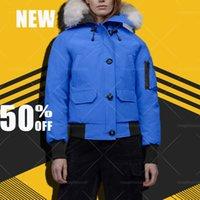 Nuovo designer moda donna down parka inverno wolf pelliccia giacca da viaggio cappotto esterno con cappuccio cotone classico addensato