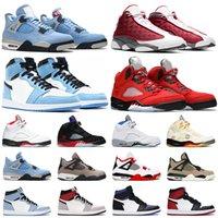 1 Pas cher TRAVIS scott 1 Air Jordan 1s hommes femmes chaussures de basket-ball Obsidienne UNC Noir Toe Turbo sneakers sport vert mens formateurs extérieurs 36-47