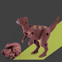 Dinosauro di covata gonfiabile magico aggiungere acqua che coltivava uova di Dino Bambini Bambino GAG giocattolo Big Size 5x7cm