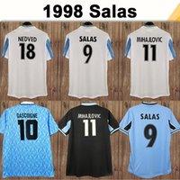 98 99 Salas Erkek Retro Futbol Formaları 1991 Gascoigne Ev Futbol Gömlek 1999 2000 SS Lazio Mancini Inzaghi Nedved Nesta Üniformaları