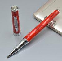 Высокое Качество Черно-белый Красный Оранжевый 4 Цвета Пикассо Металлический Роликовый Шариковый Ручка Бизнес Офис Канцтовары Писать Ручки пополнения на день рождения Подарок