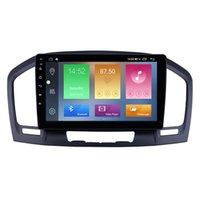 Buick Regal 2009-2013 için Dokunmatik Ekran Araba DVD Oynatıcı Android Stereo GPS Navigasyon Multimedya 9 Inç Dahili WiFi