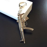 Through the fire line CF weapons gun mold alloy key ring 6cm pendant hot KR078 Keychains mix order 20 pieces a lotps2208