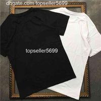 2021 Летняя роскошь Европа Мужская вышивка пчел футболка высшие качественные рубашки мода дизайнер женские улица случайные тройники