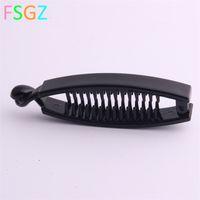 1pc Newclaws clip figura fish figura banana barrettes nero di forcine accessori per capelli per le donne clip clip morsetto accessori per capelli 1789 Q2