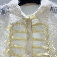 Stil Button Hemden Frauen Lange Ärmel Neue Retro-Quasseled Haarhemden Frühling Herbst Bluse Dame Lange Tops Blusas Nancylim