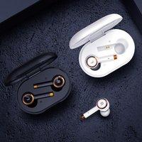TWS Wireless Bluetooth Earphones Business Headset With Mic Music Headphones Waterproof Sport Earbuds Running Phone Calls For Xiaomi Huawei Samsung Iphone