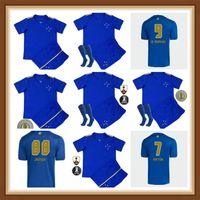 21 22 Cruzeiro Esporte Clube Soccer Jerseys 100th Anniversary Men Women Kids 2021 2022 W.Pottker Henrique Dede M.moreno Jersey di calcio Camisa de RapiSas 100 ANOS