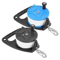 Bobine de plongée professionnelle équipement portable polyvalent avec combinaison de boucle de poignée 289ft masques