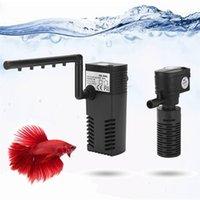 1つの酸素増加濾過水ポンプミニ水中魚タンクフィルターフィット60L-180L 200L / H