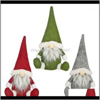 Decorations Festive Supplies & Gardenmerry Christmas Long Swedish Santa Gnome Plush Doll Ornaments Handmade Elf Toy Holiday Home Party Decor