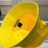 Men Women Designer Bucket Fashion Summer Triangle Caps s Mens Outdoor Fitted Fedora Hat Nylon Casquette Baseball Cap