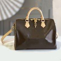 Bolsa Speedy Handbags Luxury Designers Sacos de ombro Saco de mulheres Traval Corsssbody com tiras
