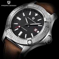 Orologi meccanici 30m impermeabile cinturino in silicone da uomo classico orologio classico di lusso in acciaio inox sport PD 1627 orologi da polso