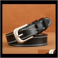 ولديسة الأزياء الديبيةالبيلت السيدات الرجعية عارضة إبرة الإبرة نسخة من حزام جلد البول مضغوط متعدد الاستخدامات عالية الجودة حزام لينة