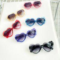 6 Colors Little Girls Fashion Sunglasses Baby Kids Classic Sun Glasses Stylish Vintage Beach Outdoor Eyewear Eyeglasses Children