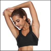 Yoga Exercise Wear Athletic Outdoor Apparel & Outdoorsyoga Outfits Quick Dry Workout Seamless Push Up Sports Vest Cross Bandage Clothes Fema