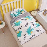 85x50 cm Tragbare Babybett Krippe mit Steppkissen Kissen Baumwolle Baby Nest Bett Bassinet Cunas Para Bebes Bettwäsche Set Cot Sleeper