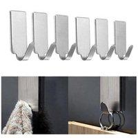 Hooks & Rails Tissue Hanger Cloth Organizer Self Adhesive Rack Kitchen Wall Hanging Hook Accessories Hat Toilet Racks Home Decor
