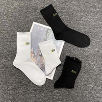 Mens Moda Moda Meninos Active Running Sports Sock Hiphop 21ss Streetwear 2 Cores para Atacado