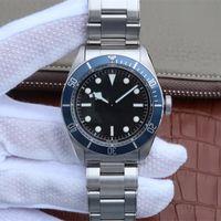 ZF Mens Horloges 2836 Zwitserse mechanische automatische beweging Luxe horloge 41 mm Diameter Draai de buitenste ring in één richting Waterdicht200 lichtgevend