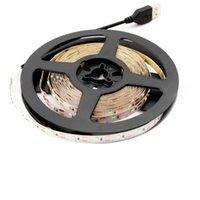Полоски USB 5V Neon Led Strip Light SMD 2835 50 см 1 м 2 м 3 м 4 м 5 м от 60 / м Подсветка TV 5 В диодной лампы