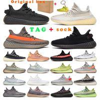 2021 kanye hombres mujeres zapatillas zapatos entrenadores carbono ceniza nube crema blanco cebra estático negro yecheil reflexivo beluga natural zapatillas de deporte al aire libre