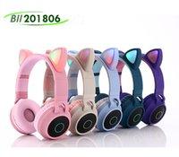 Lindo gato auriculares inalámbricos auriculares B39 Bluetooth auriculares BT 5.0 Auriculares Música estéreo Gaming Auricular con cable Auricular Auricular