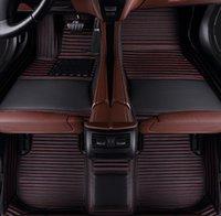 Subaru Forester 2006-2020 바닥 매트 바닥 라이너 모든 날씨 방수 자동차 매트