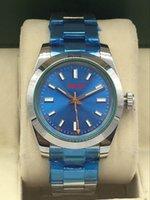 Men's mechanical watch, folding button. 40 mm. 316 fine steel 2813 movement