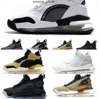Proto di alta qualità Proto New Aerospace Basketball Shoes Metallic Silver Gum Black Gum Gold Foster OKA Limonata Limonata Limonata SP