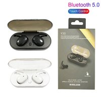 Y30 TWS bluetooth 5.0 earphones Wireless Earbuds chip Touch Control Sport in Ear Stereo Cordless Headset for Iphone 13 12 Pro Max Sumsang All Smart phones