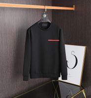 EUR STREET Classic Designer Sweatshirt Hommes Jumper Chemise Hip-Hop Vente chaude Haut de la qualité Badge de qualité Broderie 3 couleurs Sac fourre-tout inclus Double couche Matériau Tops