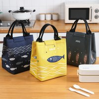 Cute Portable Lunch Bag Outdoor Aluminum Foil Insulation Fresh keeping