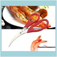 Other Kitchen, Dining Bar Home & Garden Lobster Shrimp Crab Seafood Scissors Shears Snip Shells Kitchen Tool Sn029 Drop Delivery 2021 Zu7Kq