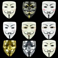 New movie Cosplay mask hacker anonymous guy fox Halloween party and Christmas gift adult children theme
