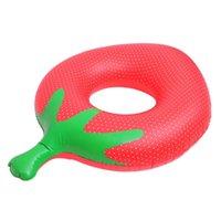 Life Vest & Buoy Inflatable Pool Floats Swim Ring Fruit Design Floating For Kids